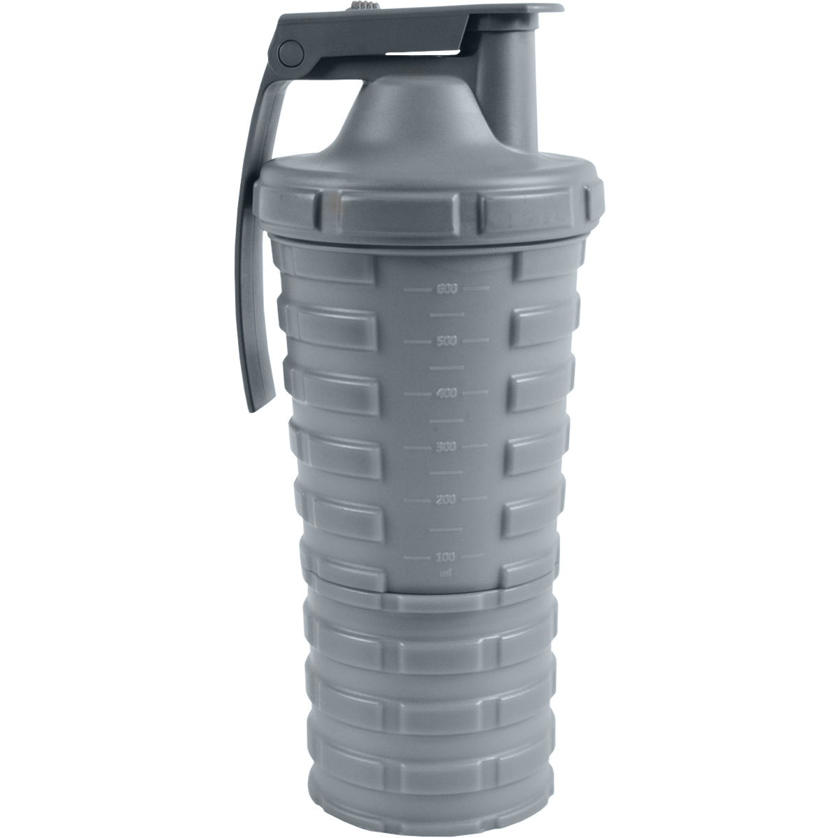 thumbnail 11 - Grenade-20-oz-Shaker-Blender-Mixer-Bottle-with-600ml-Protein-Cup-Compartment