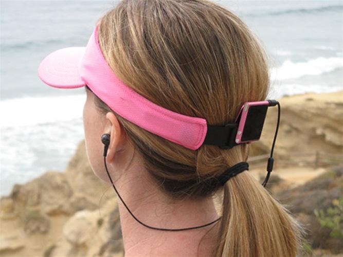 Halo Headband Rhythm Short Earphones Black