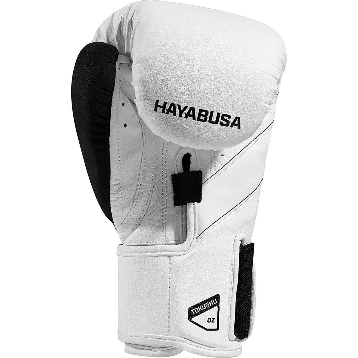 Hayabusa-T3-Dual-X-Hook-and-Loop-Closure-Vylar-Leather-Training-Boxing-Gloves thumbnail 24
