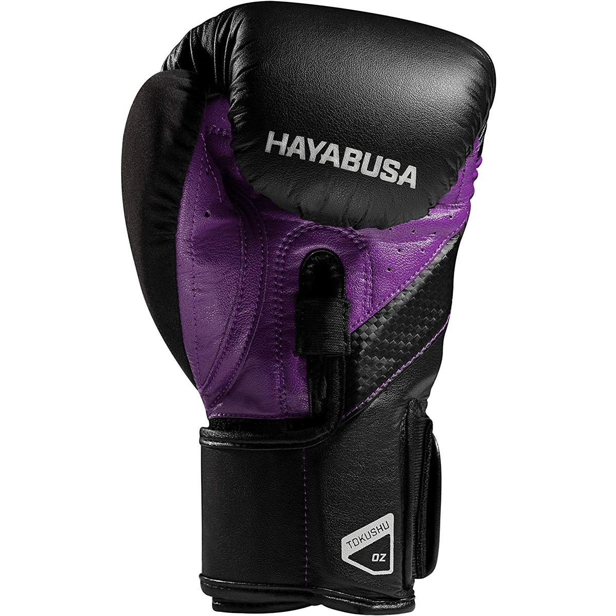 Hayabusa-T3-Dual-X-Hook-and-Loop-Closure-Vylar-Leather-Training-Boxing-Gloves thumbnail 17