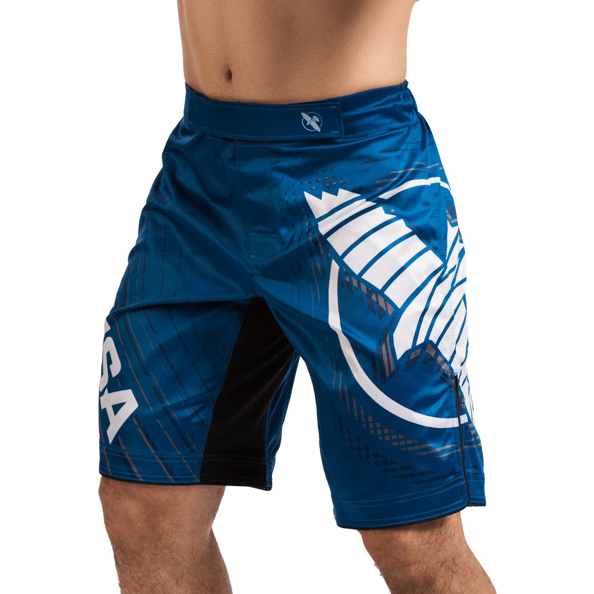 SALE Hayabusa Compression Underwear Boxer Shorts MMA BJJ Jiu Jitsu Blue XL