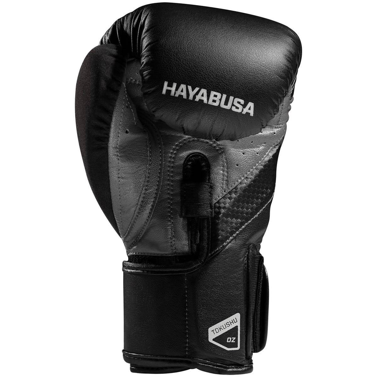 Hayabusa-T3-Dual-X-Hook-and-Loop-Closure-Vylar-Leather-Training-Boxing-Gloves thumbnail 9