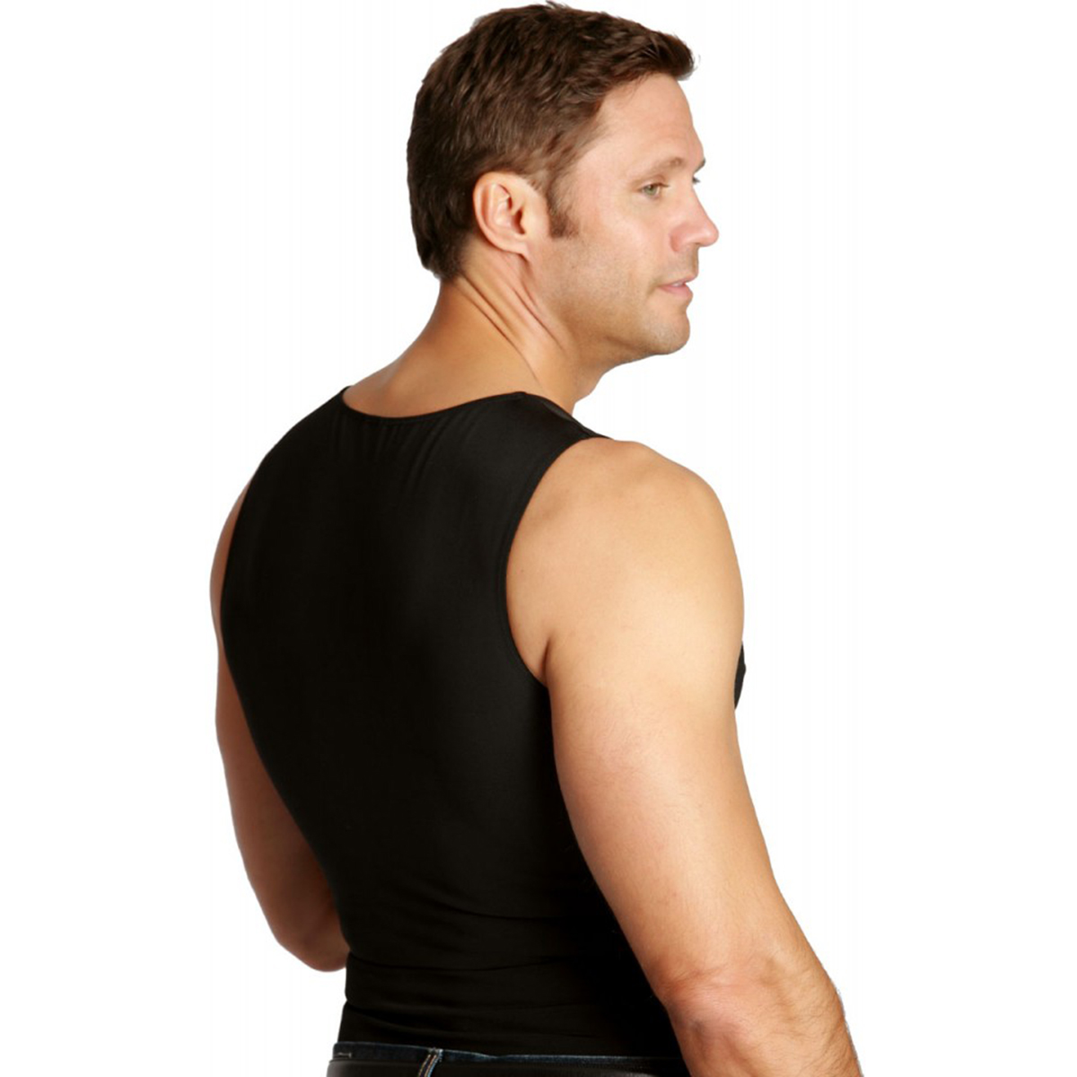 thumbnail 3 - Insta-Slim-Muscle-Tank-Firming-Compression-Slimming-Under-Shirt