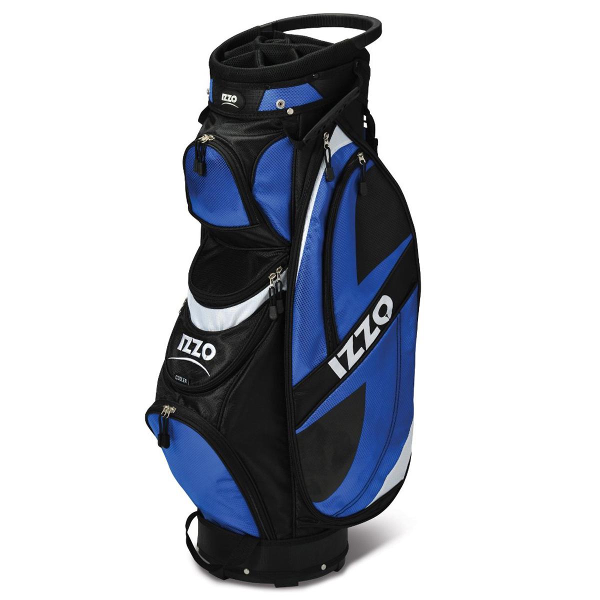 Izzo Breeze Deluxe Ultra Light Push Cart Golf Bag Ebay