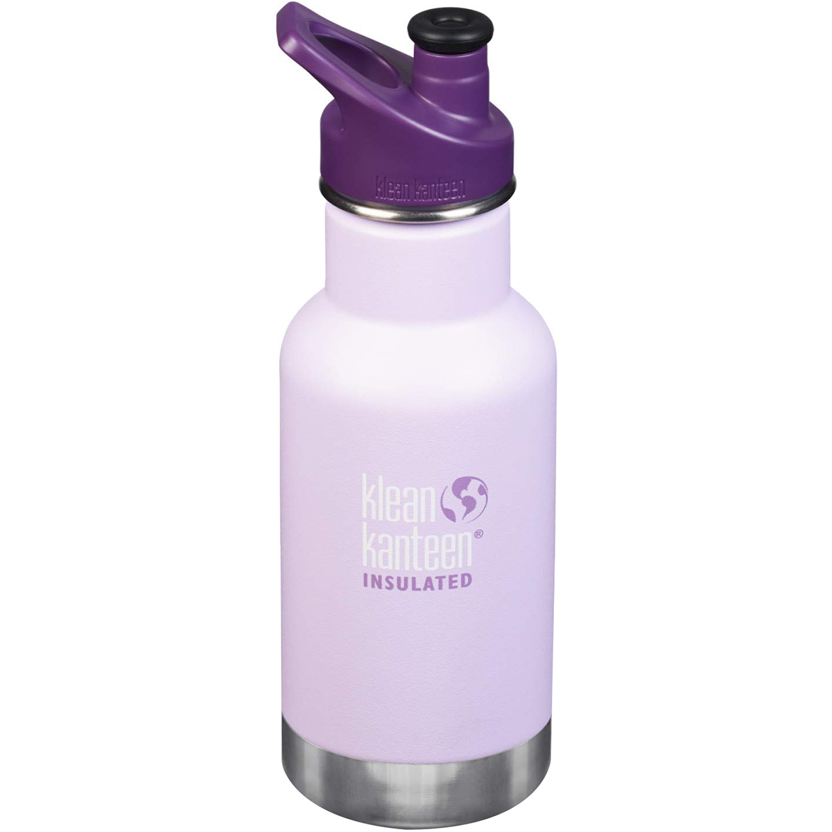 12 oz Klean Kanteen Kids Vacuum Insulated Canteen Sugarplum Fairy Sport Cap