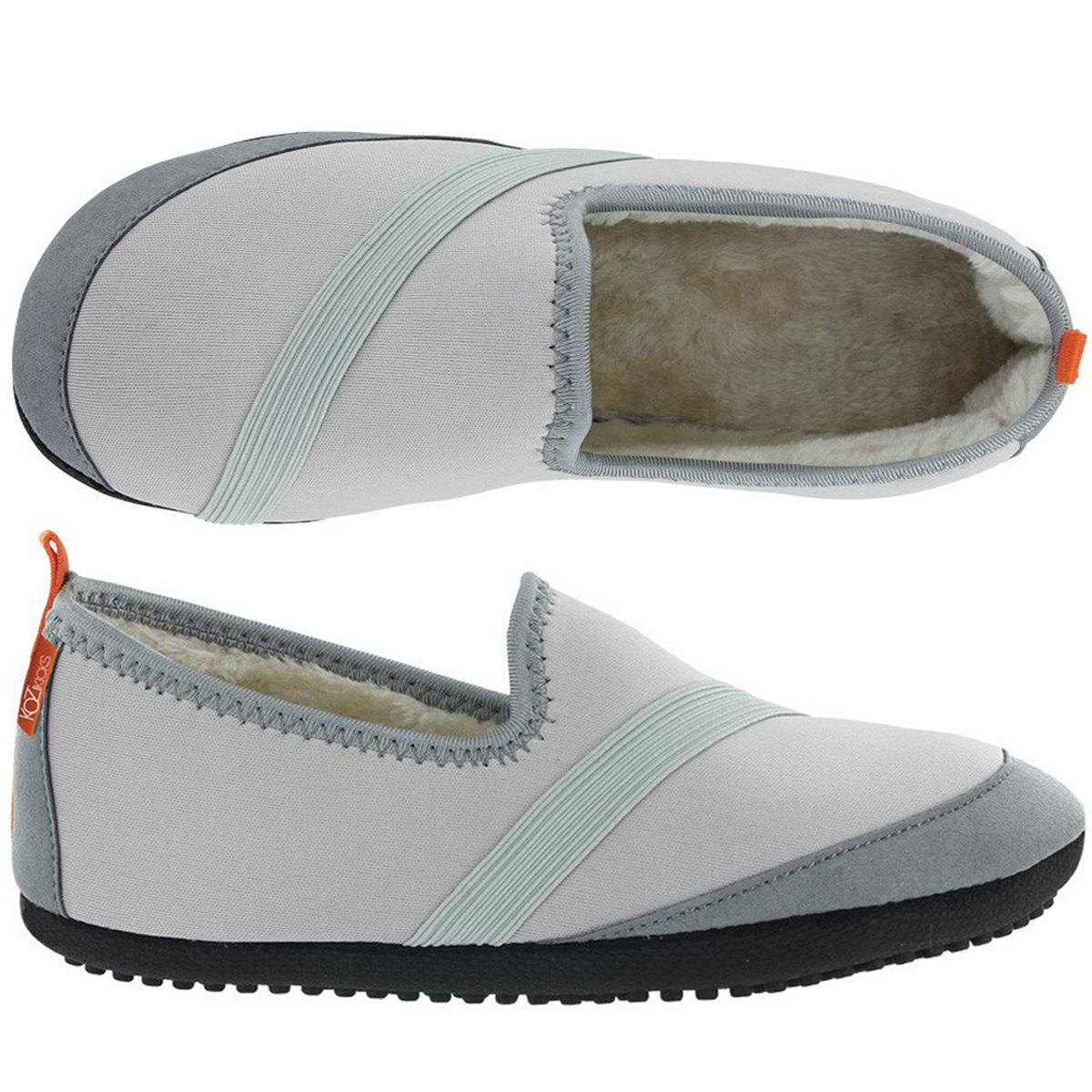 KoziKicks Women's Ergonomic Comfort Non-Slip Sole Plush