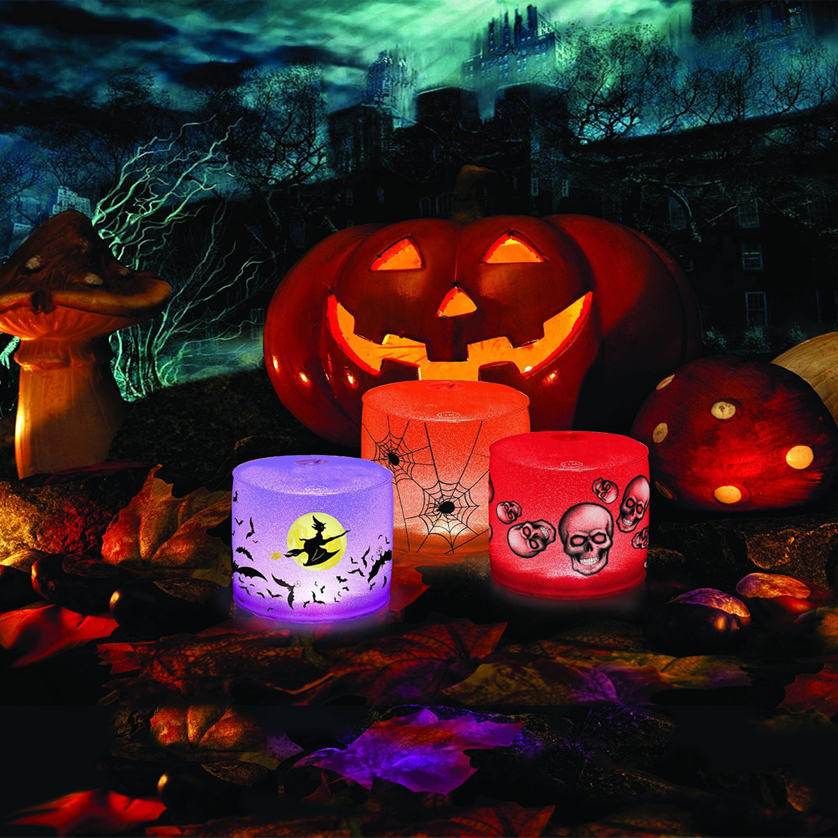 Mpowerd Luci Spooky Color Changing Portable Waterproof