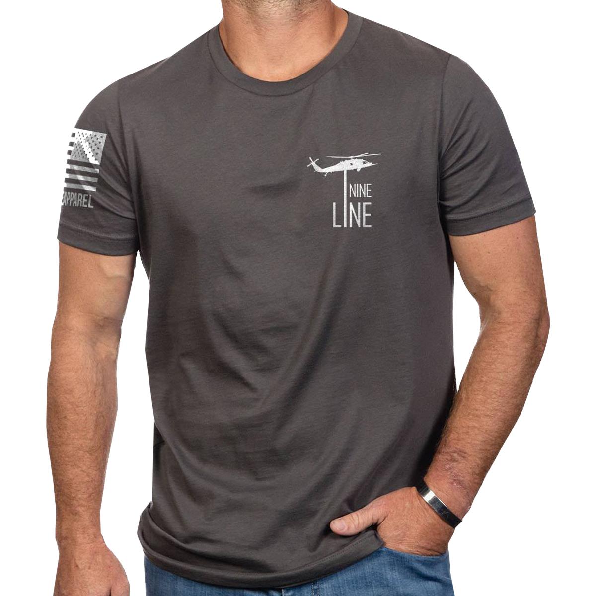 Details about Nine Line Apparel I Stand Short Sleeve T-Shirt