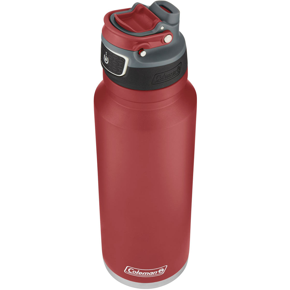 thumbnail 12 - Coleman 40 oz. Free Flow Autoseal Insulated Stainless Steel Water Bottle