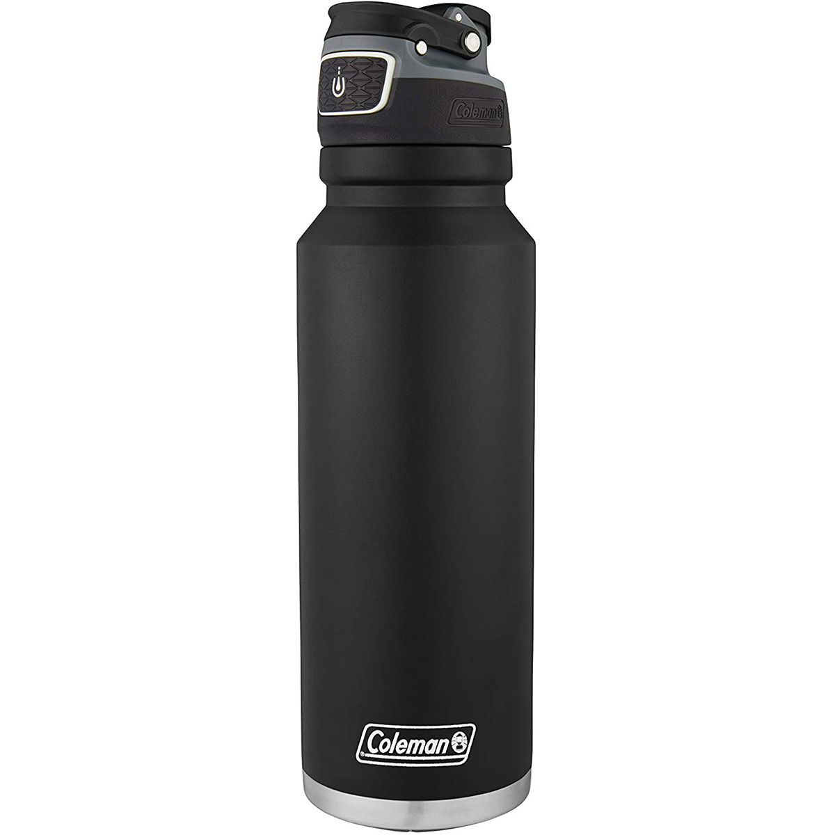 thumbnail 3 - Coleman 40 oz. Free Flow Autoseal Insulated Stainless Steel Water Bottle