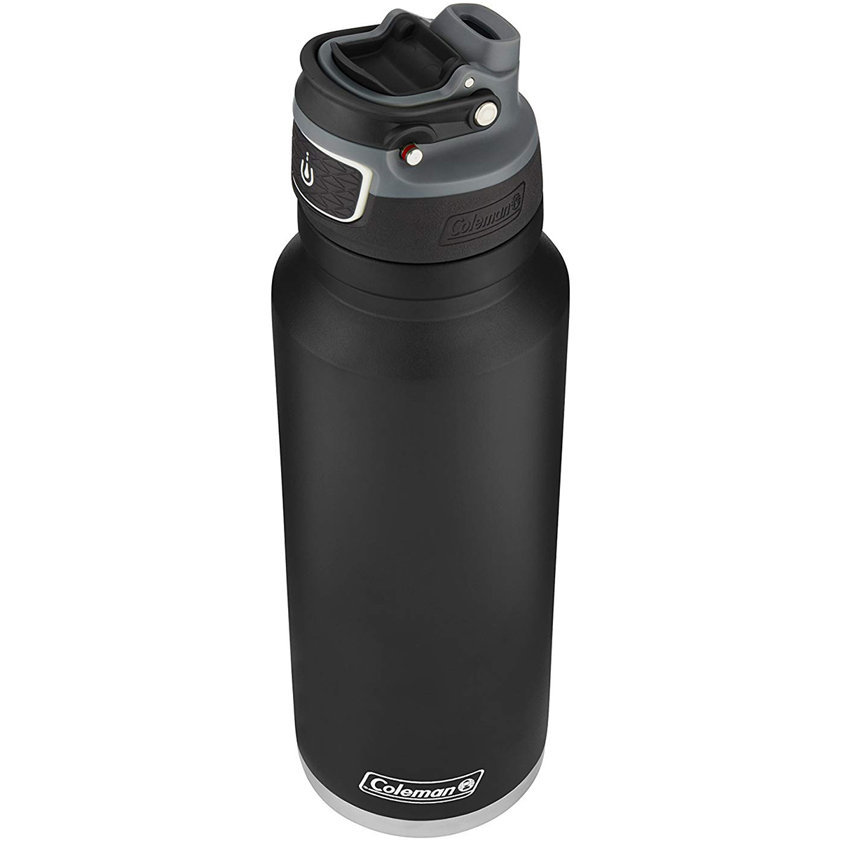 thumbnail 4 - Coleman 40 oz. Free Flow Autoseal Insulated Stainless Steel Water Bottle