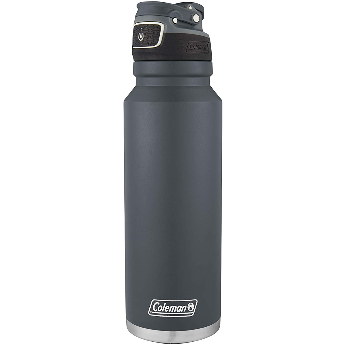 thumbnail 23 - Coleman 40 oz. Free Flow Autoseal Insulated Stainless Steel Water Bottle
