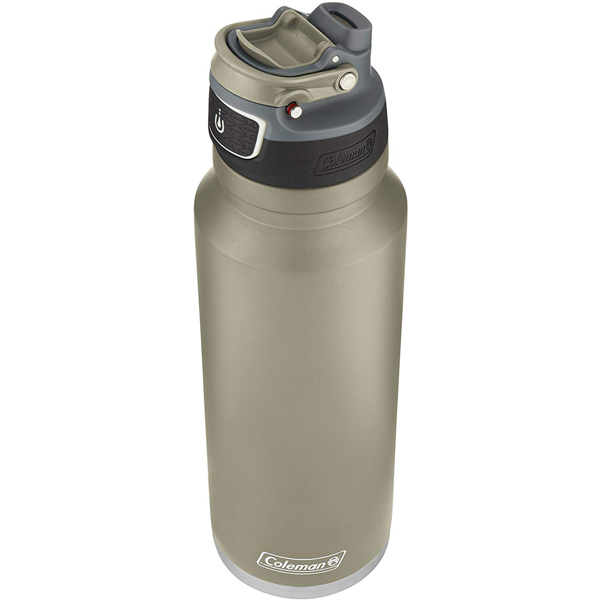 thumbnail 16 - Coleman 40 oz. Free Flow Autoseal Insulated Stainless Steel Water Bottle