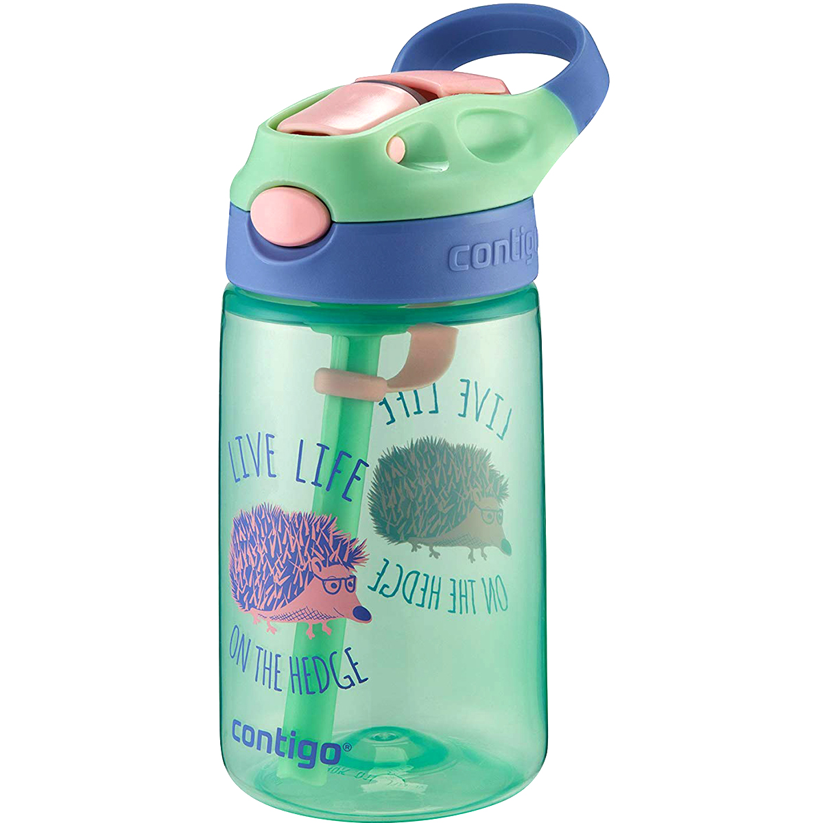 Contigo-14-oz-Kid-039-s-Autospout-Gizmo-Flip-Water-Bottle miniatuur 3