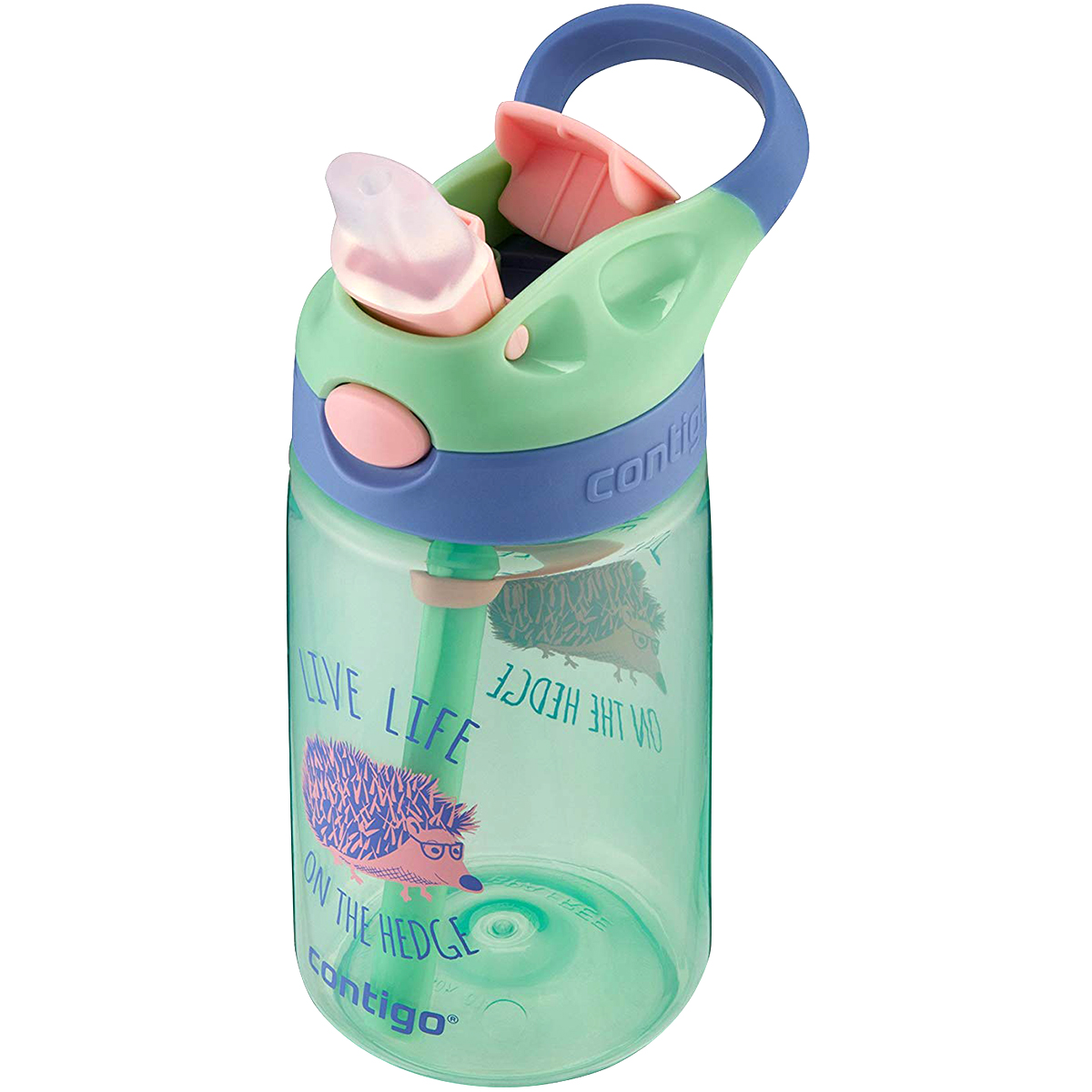 Contigo-14-oz-Kid-039-s-Autospout-Gizmo-Flip-Water-Bottle Indexbild 4