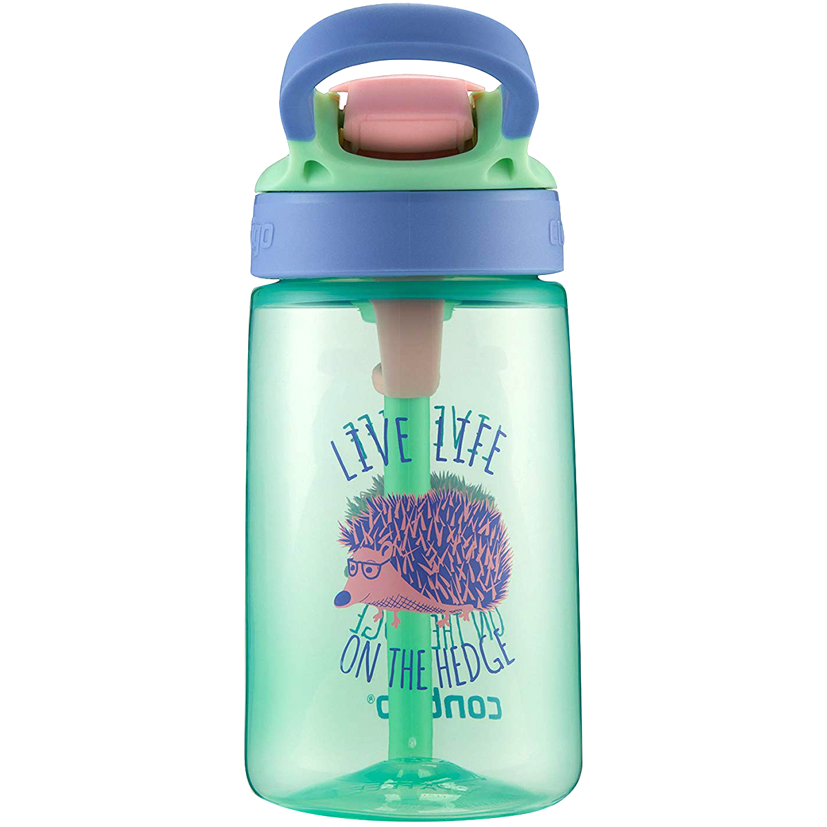 Contigo-14-oz-Kid-039-s-Autospout-Gizmo-Flip-Water-Bottle miniatuur 5