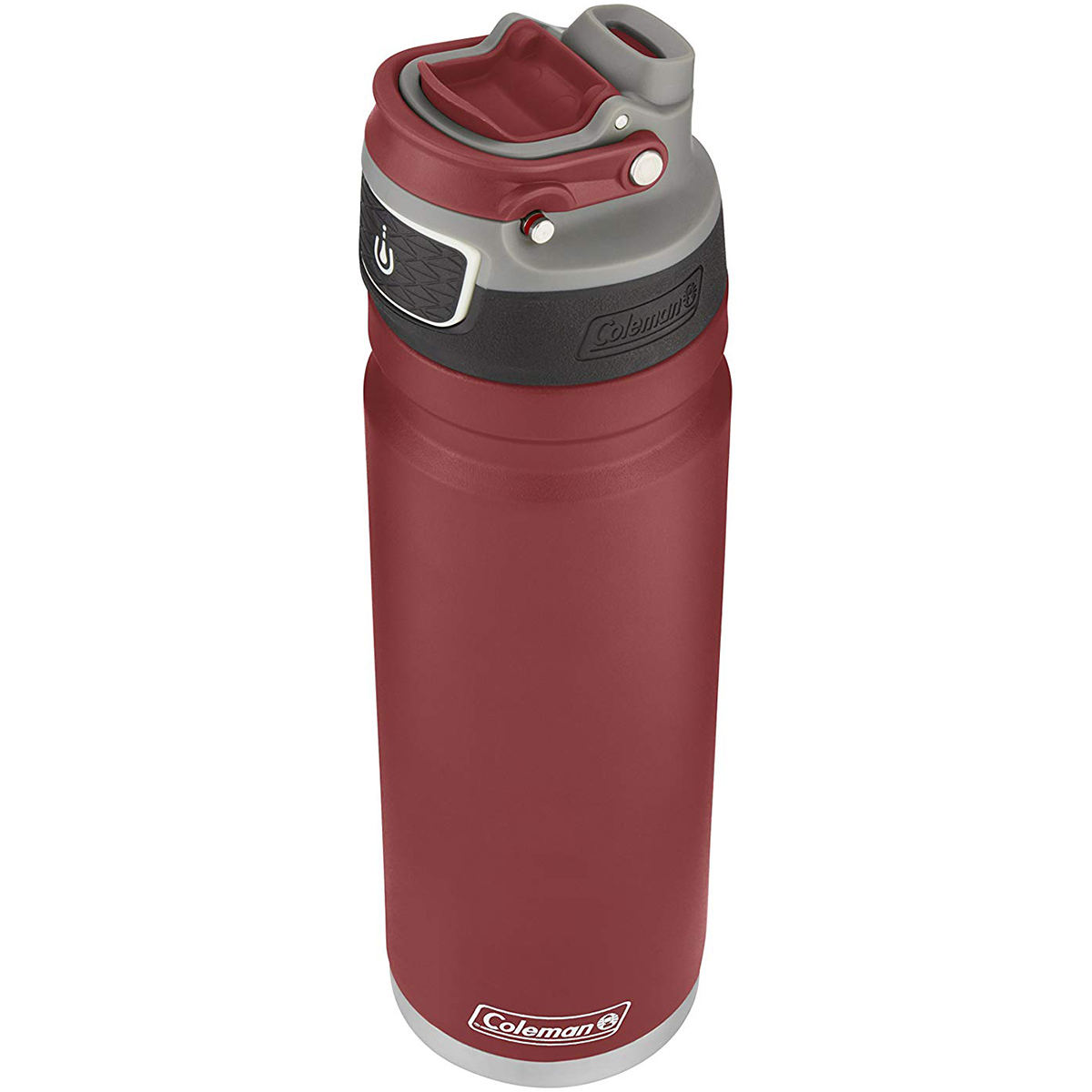 Coleman-24-oz-Free-Flow-Autoseal-Insulated-Stainless-Steel-Water-Bottle thumbnail 12