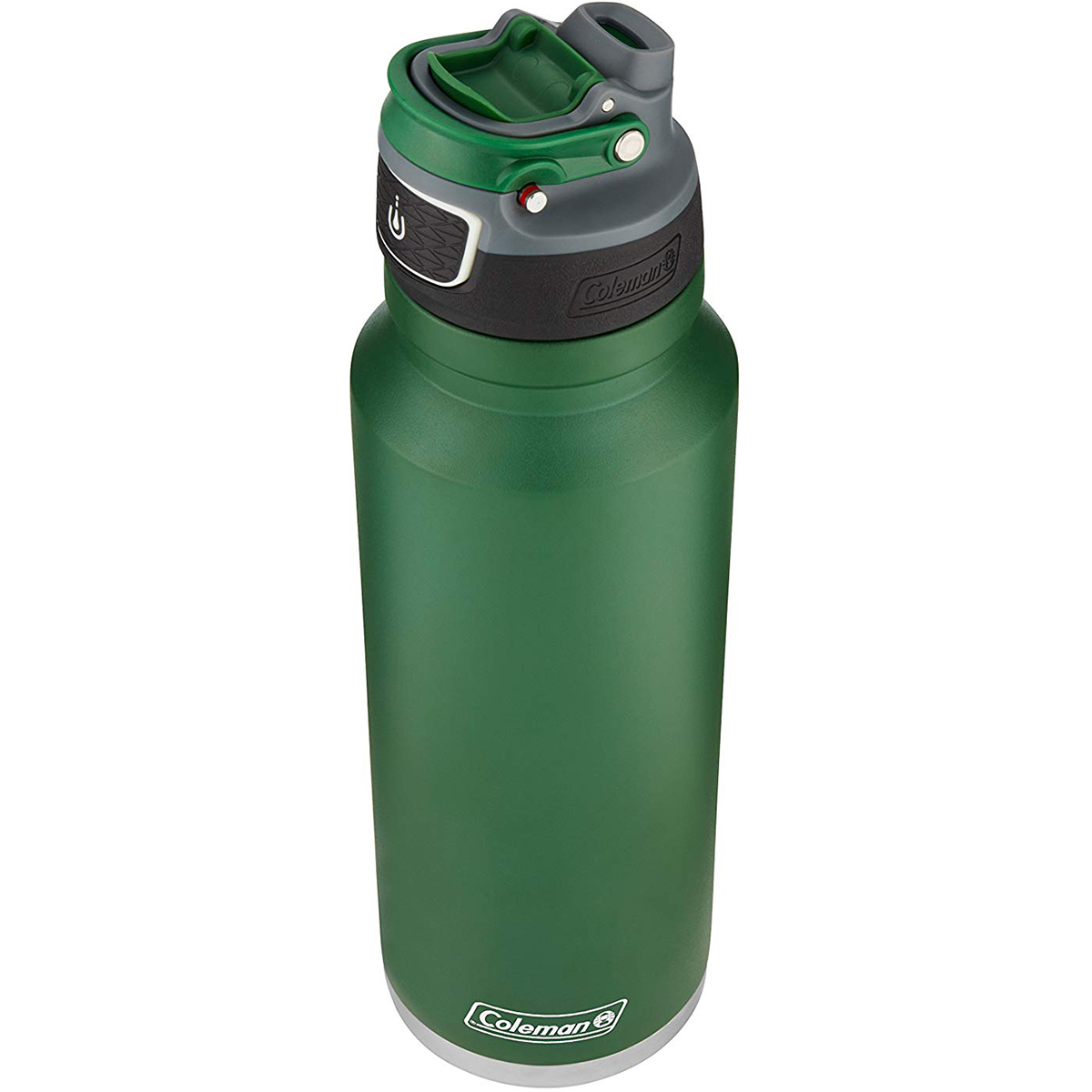 thumbnail 8 - Coleman 40 oz. Free Flow Autoseal Insulated Stainless Steel Water Bottle