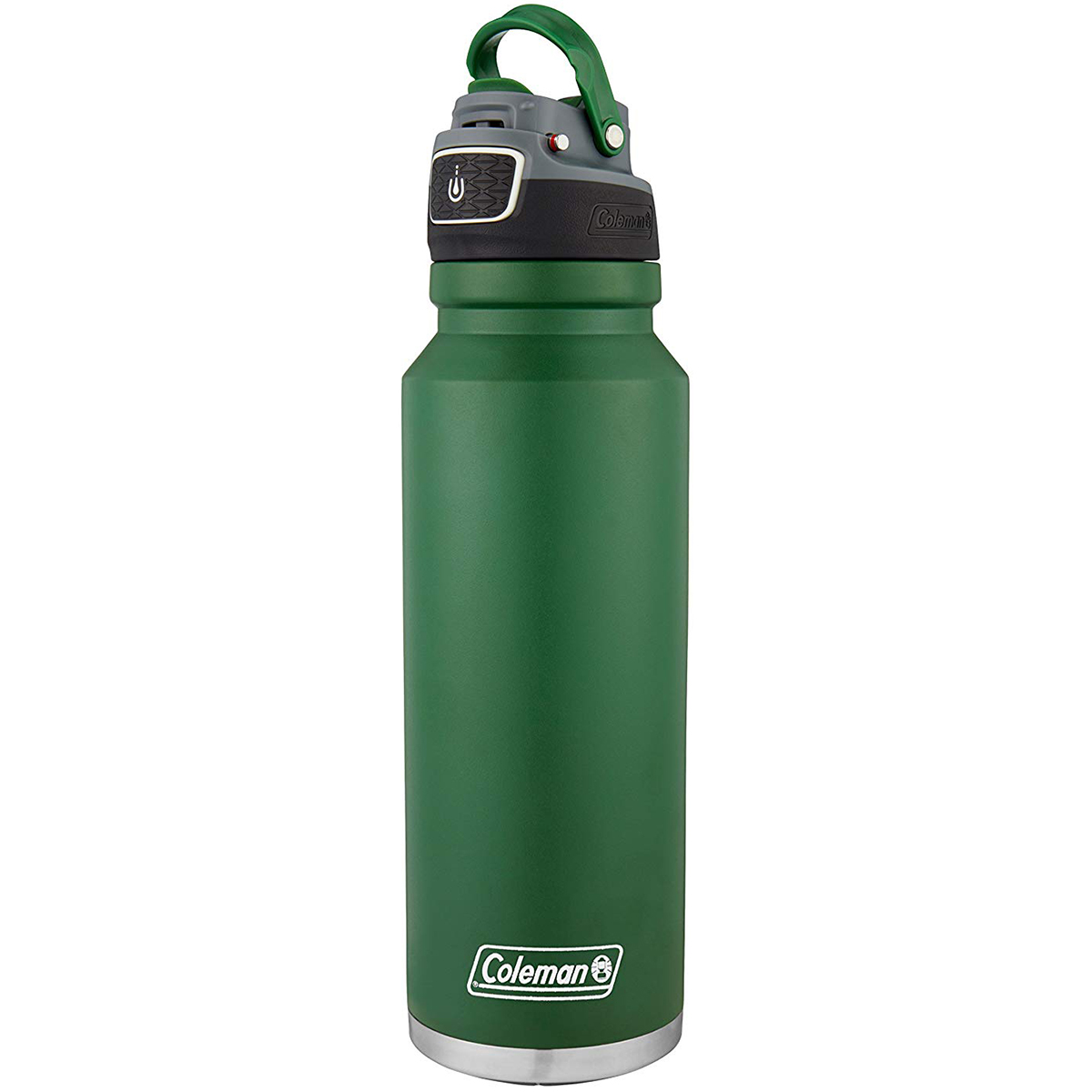 thumbnail 9 - Coleman 40 oz. Free Flow Autoseal Insulated Stainless Steel Water Bottle