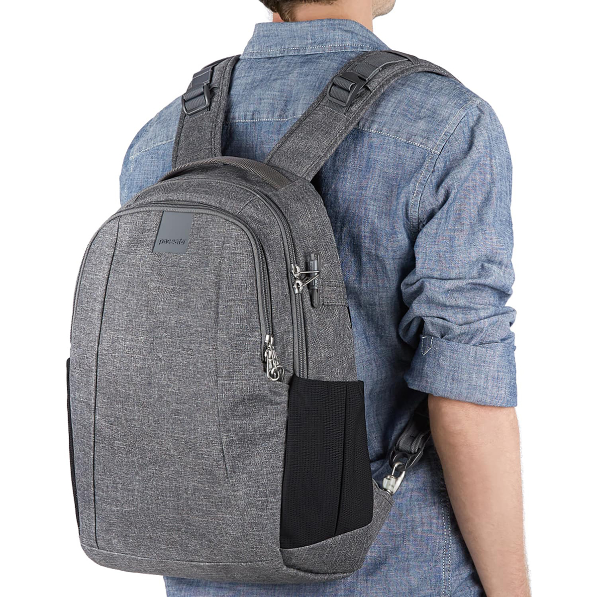 PacSafe-MetroSafe-LS350-Anti-Theft-15L-Backpack miniature 11