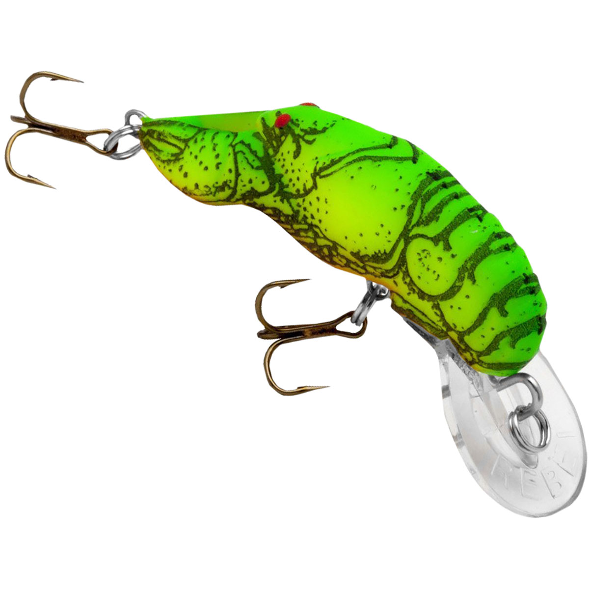 Rebel Teeny Wee Crawfish 1//10 oz Fishing Lure Moss Crawfish