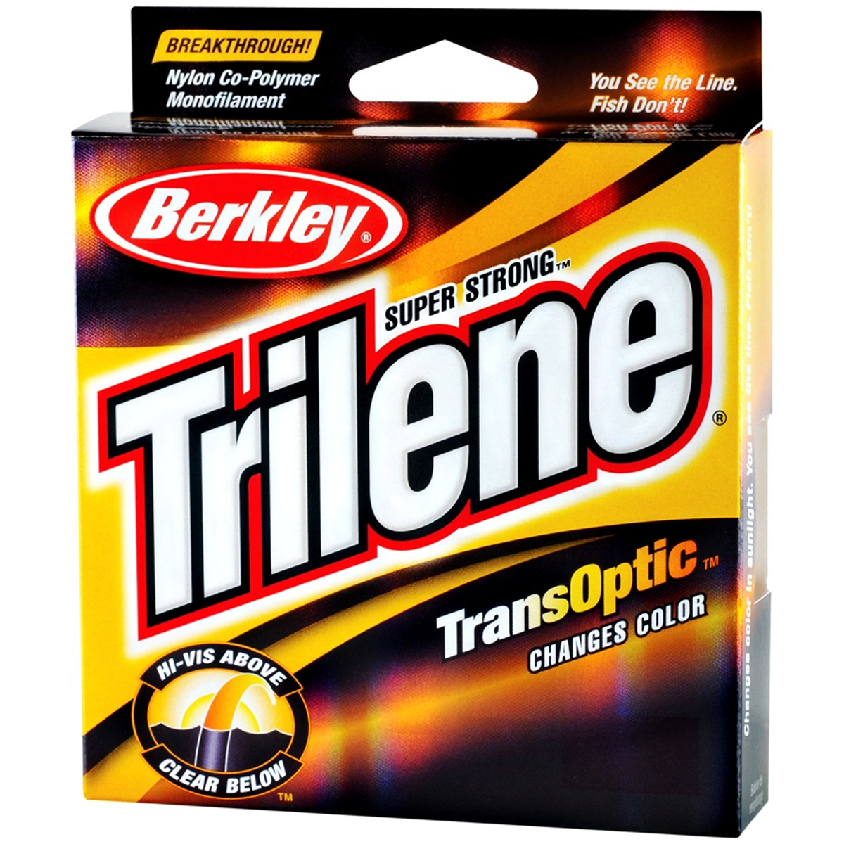 Berkley Trilene TransOptic Fishing Line (220 yds) - Clear/Gold | eBay