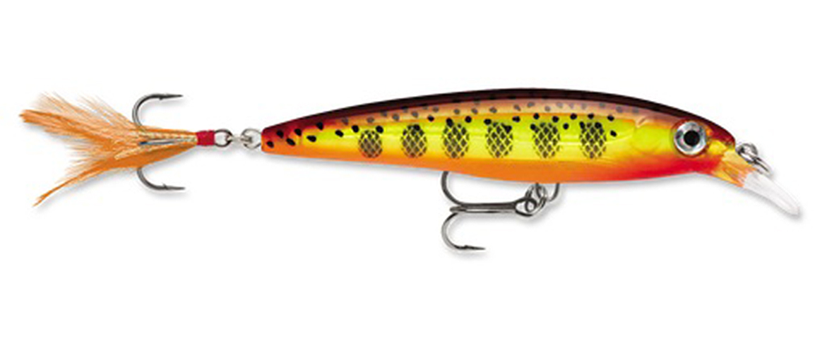 Rapala X-Rap 04 Fishing Lure Hot-Moutarde margoulin