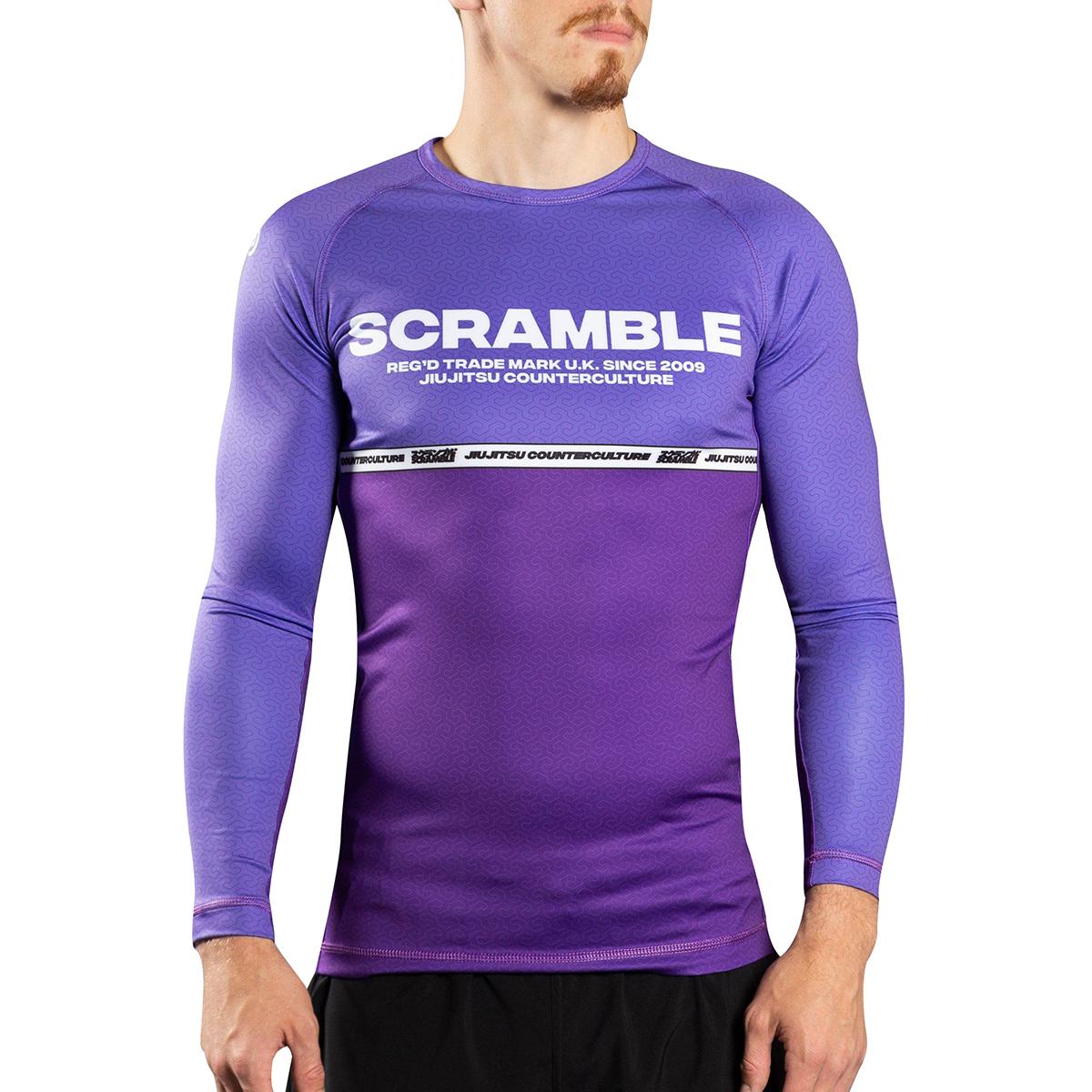 Dokebi Eternal Long Sleeve BJJ Rashguard Purple