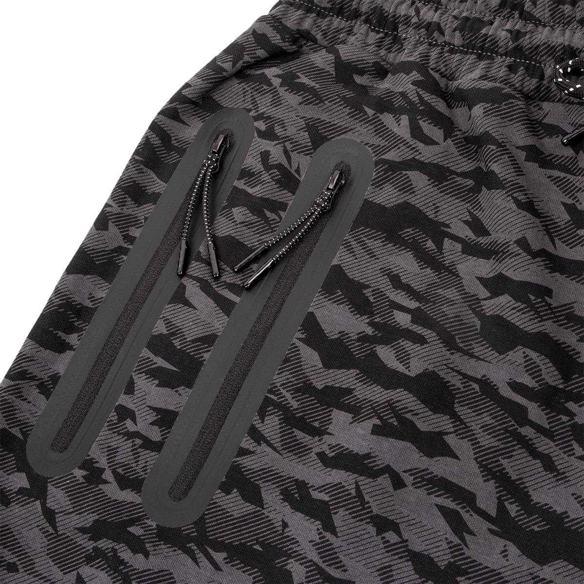 Venum Laser cordon de serrage à la taille coton Shorts-Dark Heather Gris