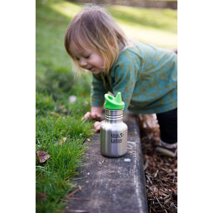 Klean-Kanteen-Kid-Classic-12-oz-Single-Wall-Bottle-with-Sippy-Cap thumbnail 6
