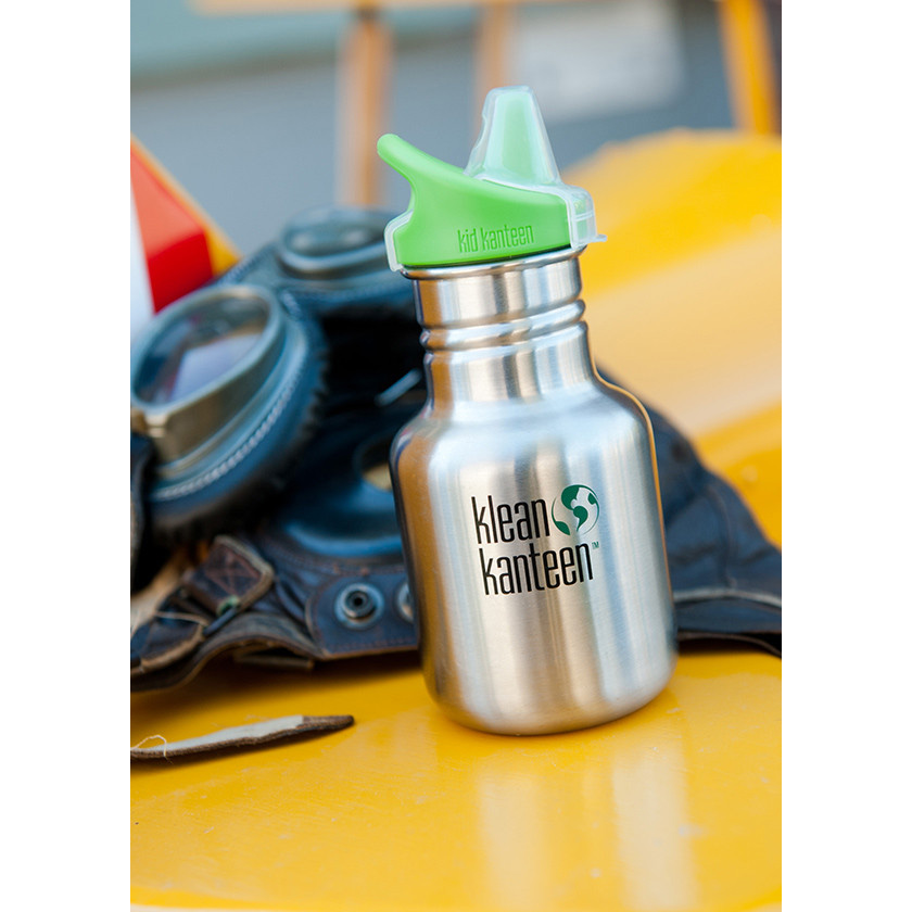 Klean-Kanteen-Kid-Classic-12-oz-Single-Wall-Bottle-with-Sippy-Cap thumbnail 7