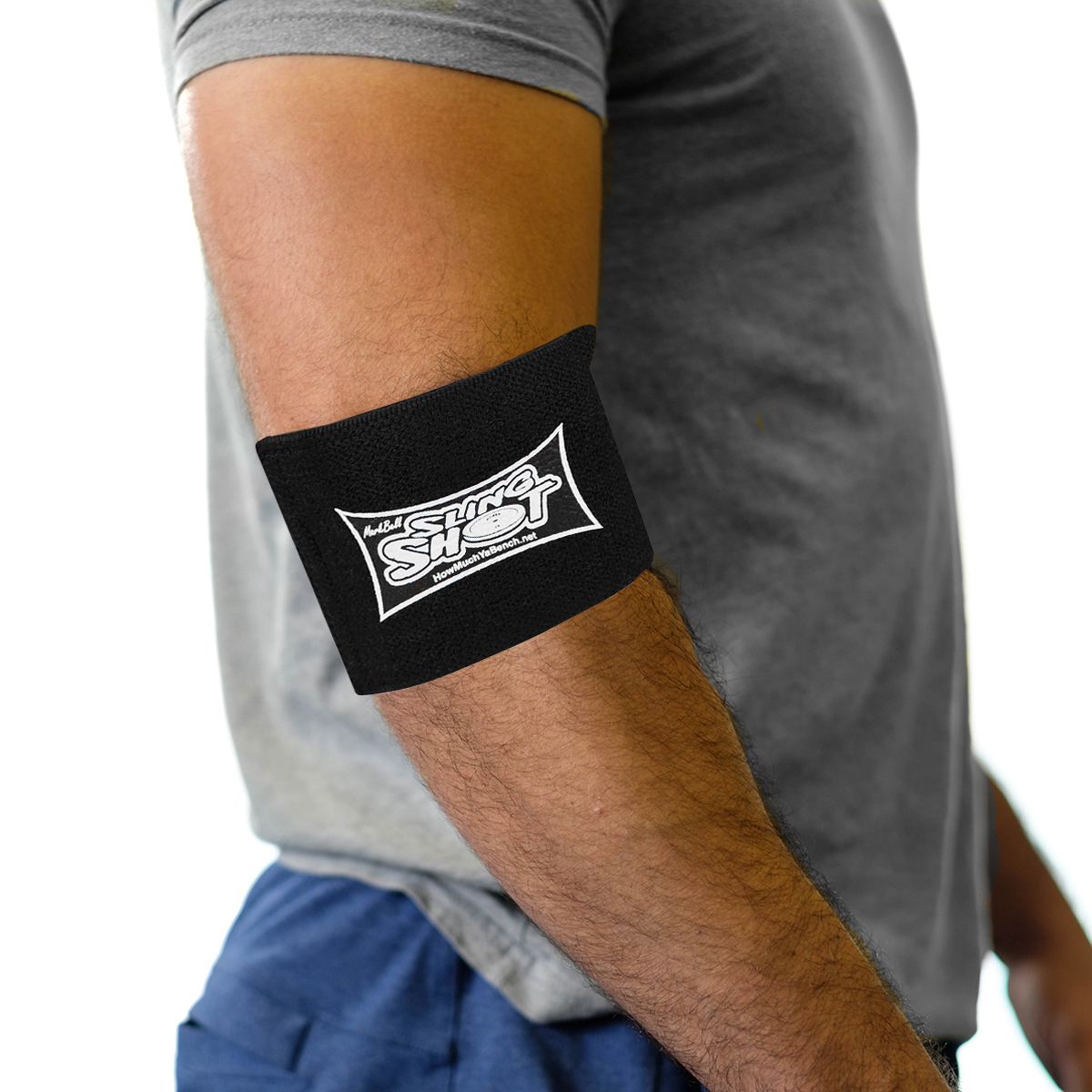 Sling-Shot-Compression-Cuff-Upper-Body-by-Mark-Bell-Elastic-joint-support-band thumbnail 3