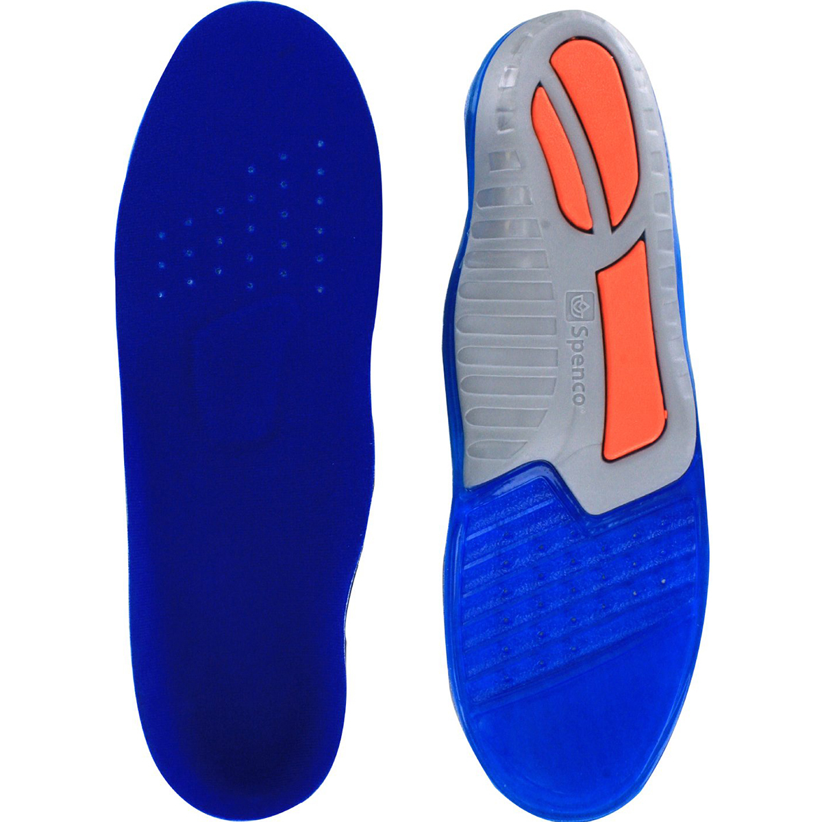 NEW Spenco Size 8-9 Mens GRF US-3 Orthopedic Basketball Shoe Insole Foot Support