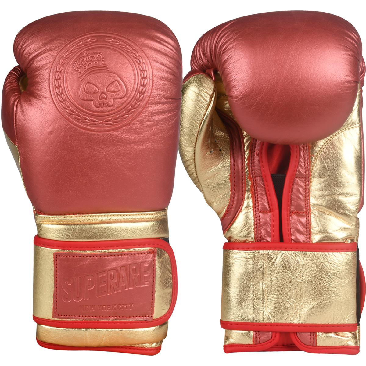 Brown Superare OG Lace Up Training Boxing Gloves