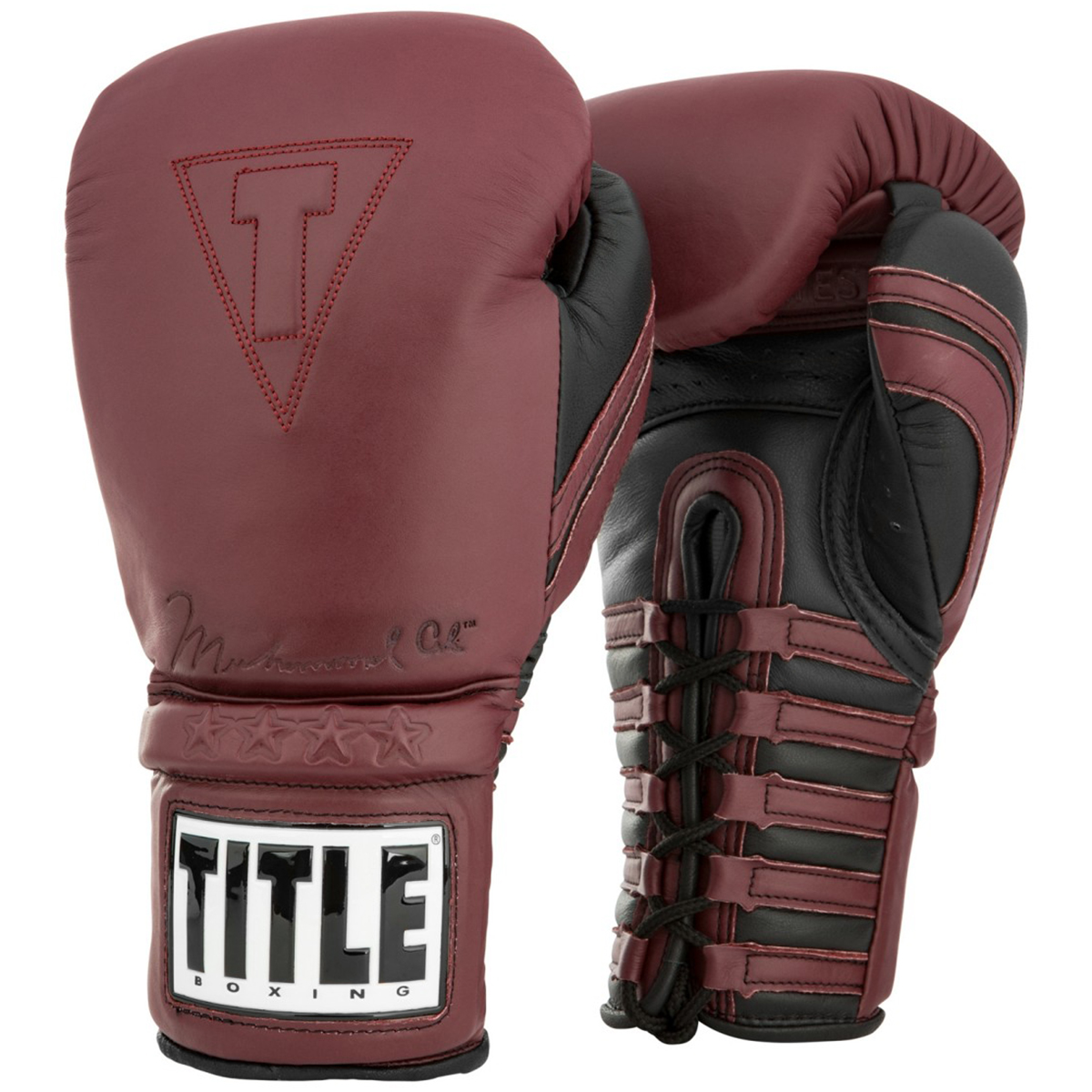 """Maroon Title Boxing Ali Limited 180/"""" Mexican Style Handwraps"""