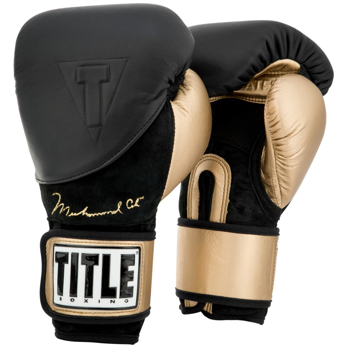 Boking Gloves: Title Boxing Ali Legacy Hook And Loop Training Boxing