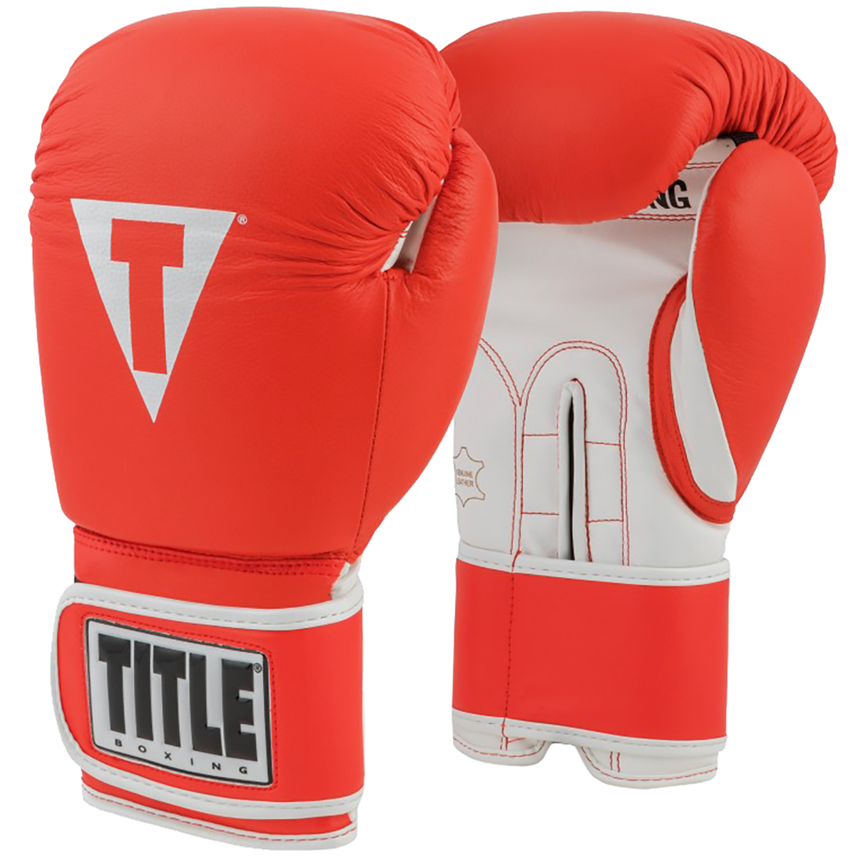 Black//Gold Title Boxing Ali Legacy Hook and Loop Training Boxing Gloves