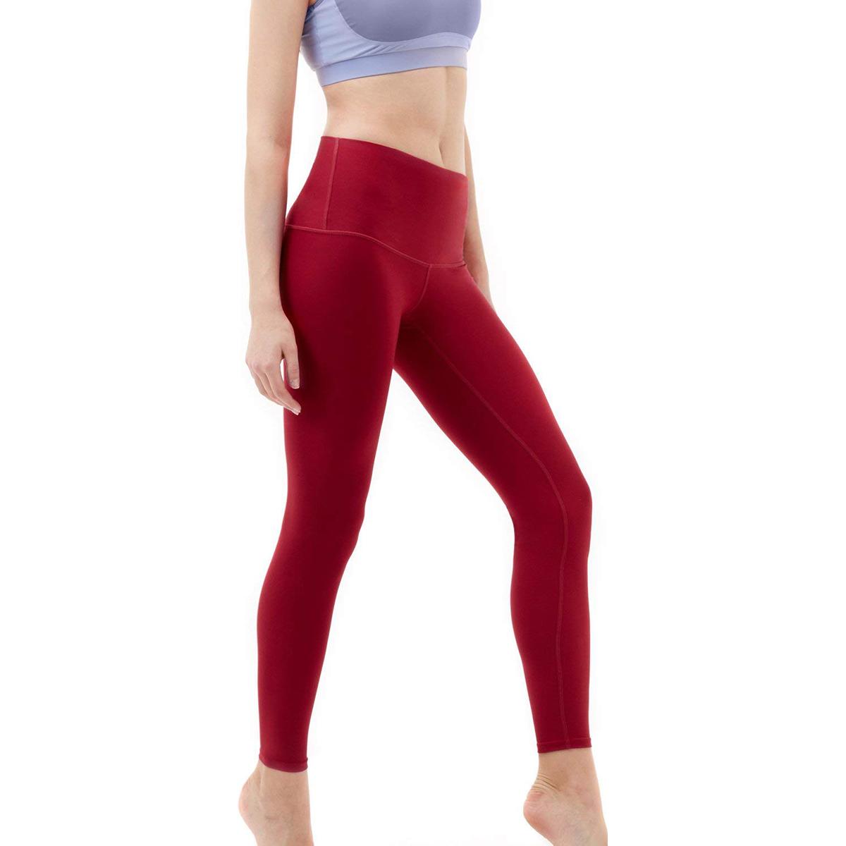 thumbnail 30 - TSLA Tesla FYP52 Women's High-Waisted Ultra-Stretch Tummy Control Yoga Pants