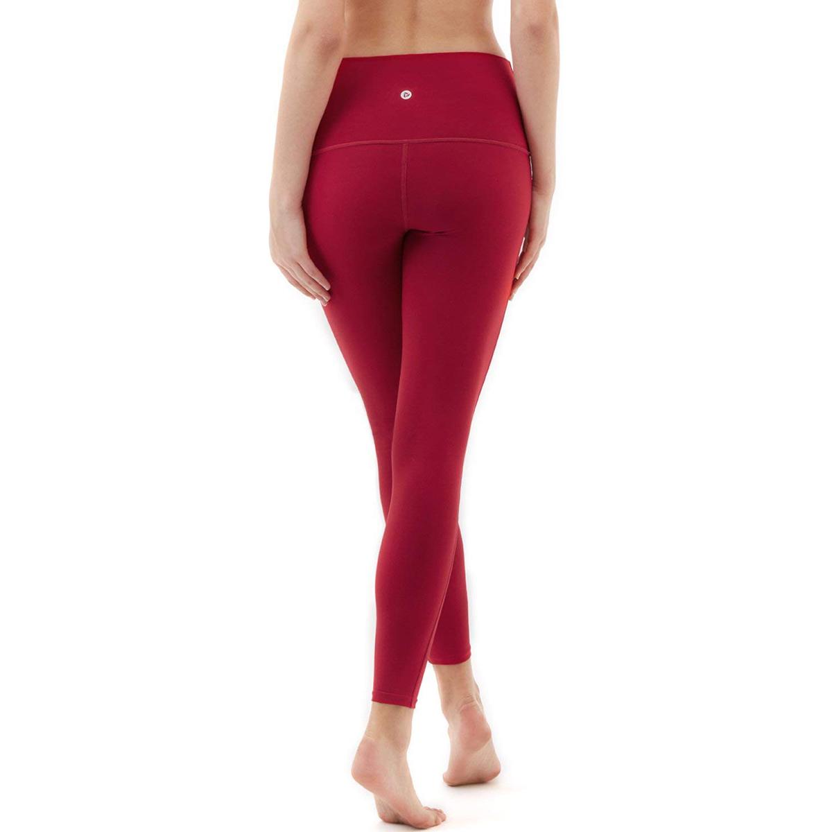 thumbnail 27 - TSLA Tesla FYP52 Women's High-Waisted Ultra-Stretch Tummy Control Yoga Pants