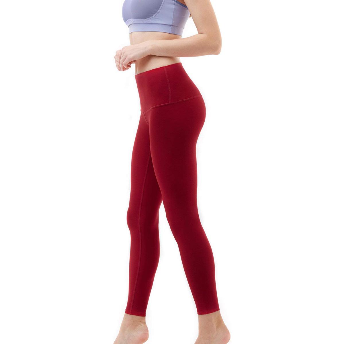 thumbnail 28 - TSLA Tesla FYP52 Women's High-Waisted Ultra-Stretch Tummy Control Yoga Pants