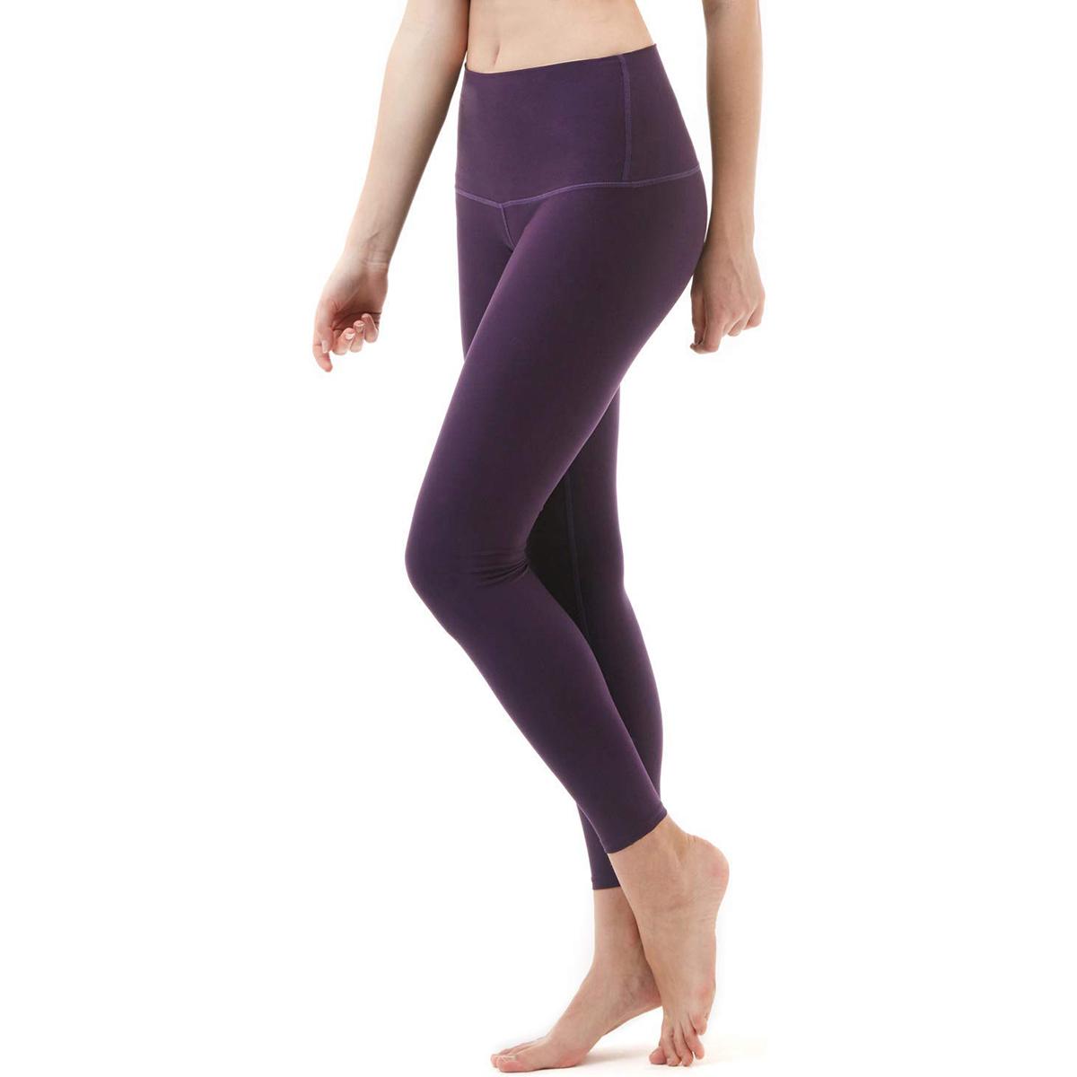 thumbnail 22 - TSLA Tesla FYP52 Women's High-Waisted Ultra-Stretch Tummy Control Yoga Pants