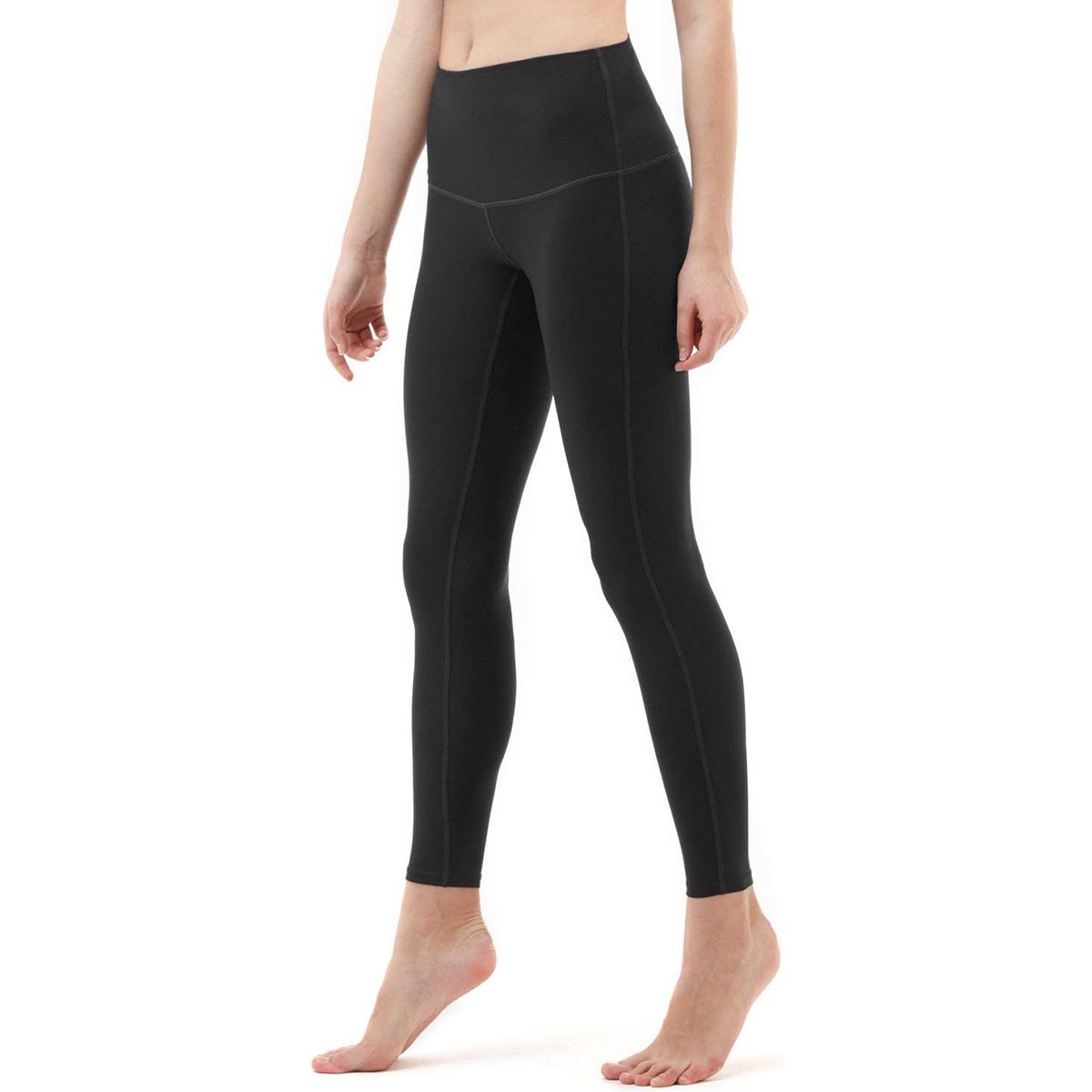 thumbnail 19 - TSLA Tesla FYP52 Women's High-Waisted Ultra-Stretch Tummy Control Yoga Pants