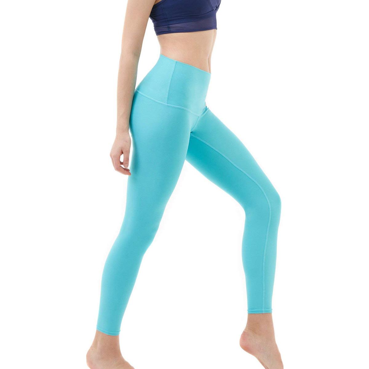 thumbnail 11 - TSLA Tesla FYP52 Women's High-Waisted Ultra-Stretch Tummy Control Yoga Pants