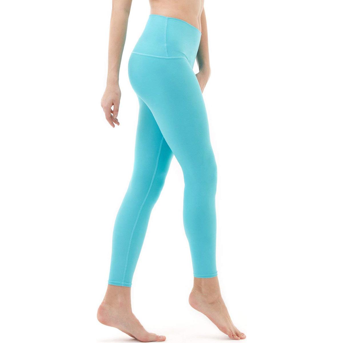 thumbnail 13 - TSLA Tesla FYP52 Women's High-Waisted Ultra-Stretch Tummy Control Yoga Pants