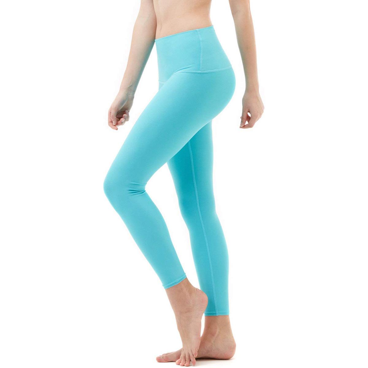 thumbnail 14 - TSLA Tesla FYP52 Women's High-Waisted Ultra-Stretch Tummy Control Yoga Pants