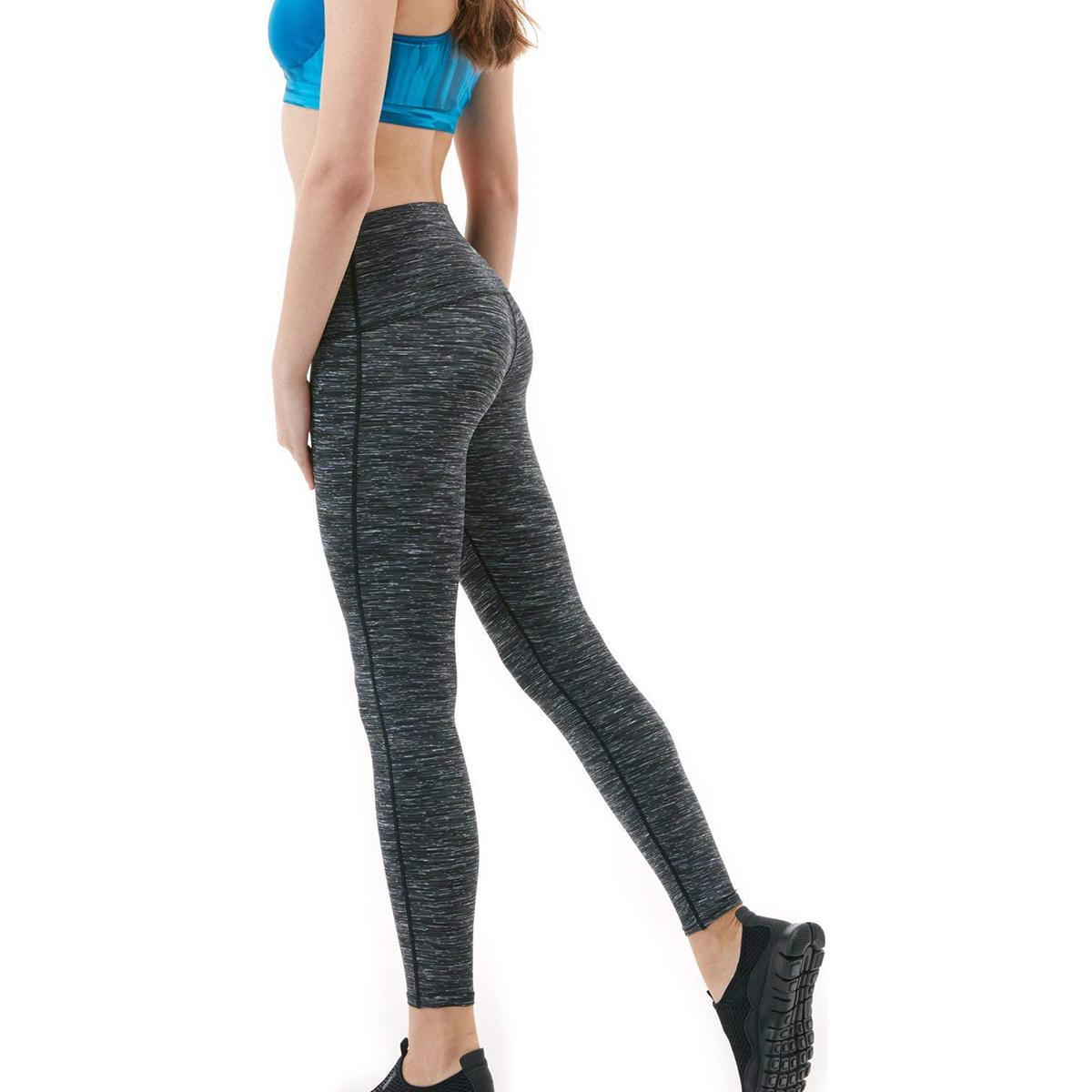 thumbnail 33 - TSLA Tesla FYP52 Women's High-Waisted Ultra-Stretch Tummy Control Yoga Pants
