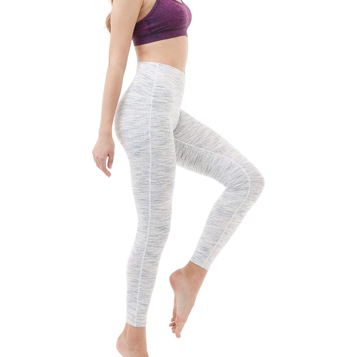 thumbnail 35 - TSLA Tesla FYP52 Women's High-Waisted Ultra-Stretch Tummy Control Yoga Pants