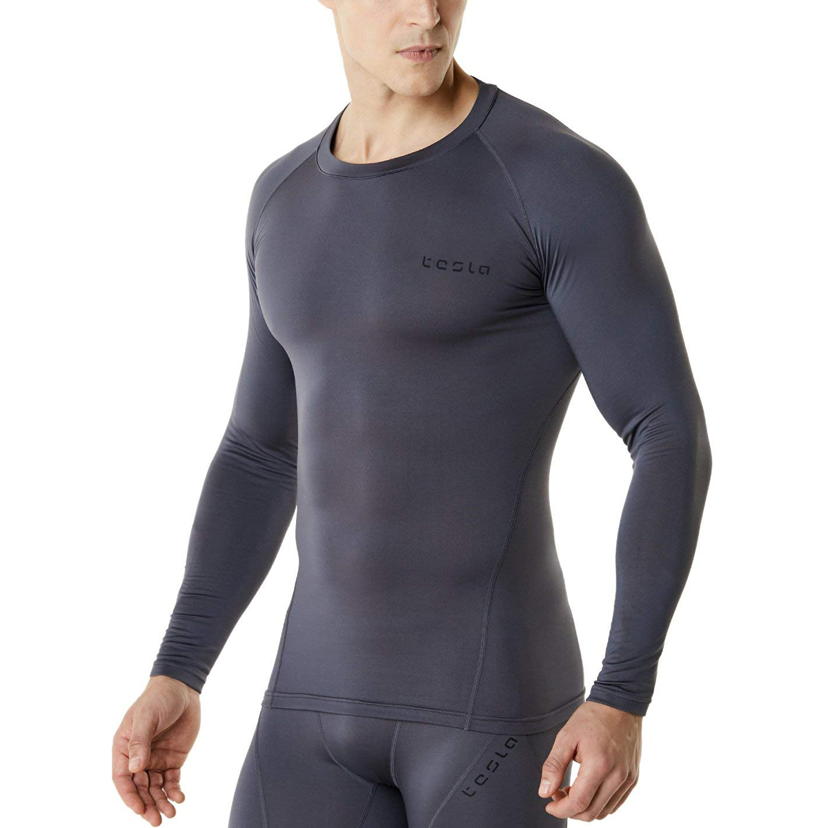 Tesla YUD34 Thermal Winter Gear Baselayer Long Sleeve Compression Top