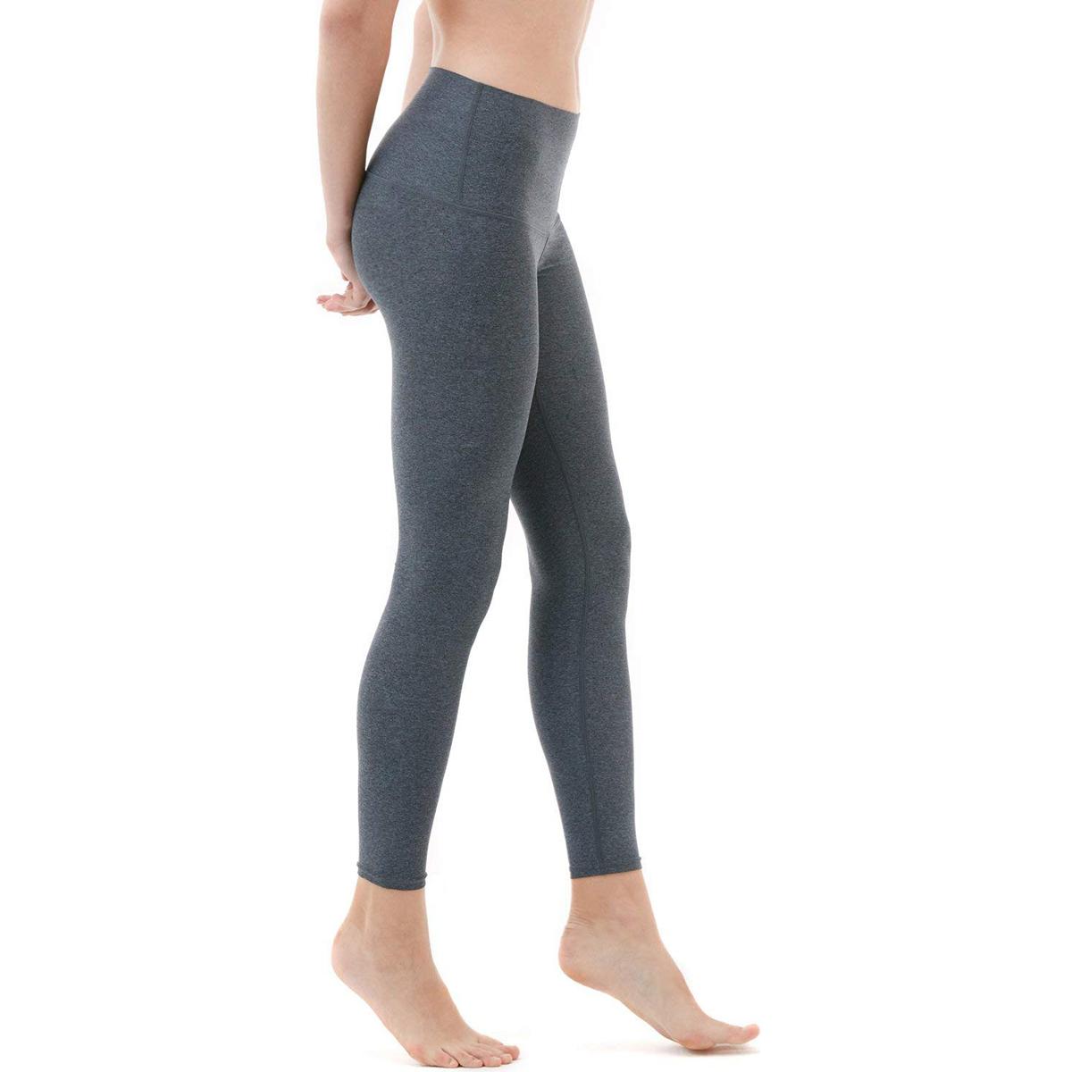 thumbnail 6 - TSLA Tesla FYP52 Women's High-Waisted Ultra-Stretch Tummy Control Yoga Pants