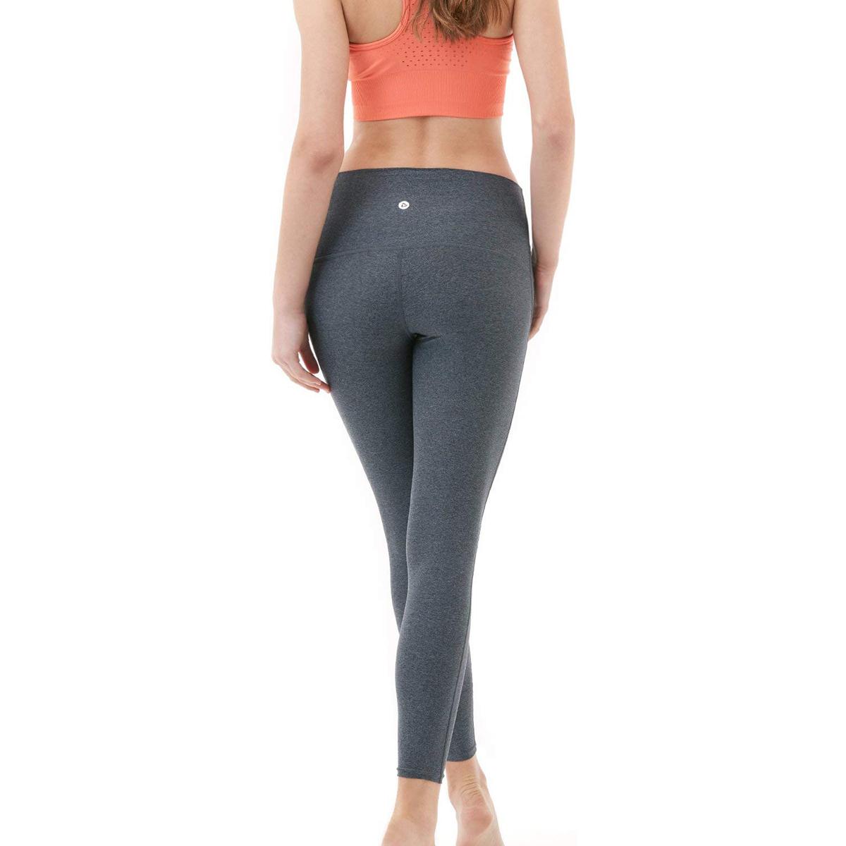 thumbnail 7 - TSLA Tesla FYP52 Women's High-Waisted Ultra-Stretch Tummy Control Yoga Pants